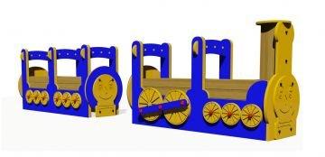 Figurlu Vagonlu Tren