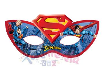 Superman Maskesi Karton Maskeler Partimarka