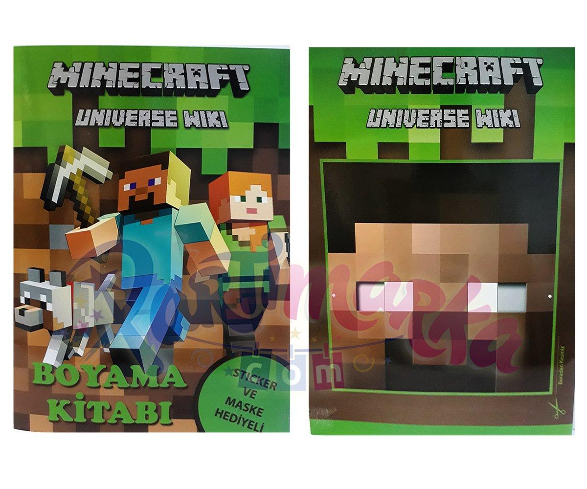 Minecraft Boyama Kitabi Minecraft Partisi Partimarka Minecraft