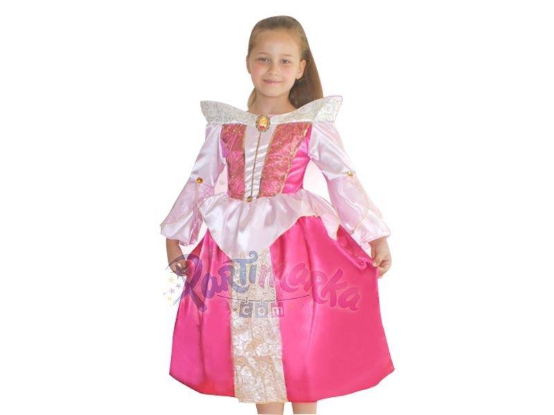 Prenses Aurora Uyuyan Güzel Kostümü 4 6 Yaş Disney Prensesleri