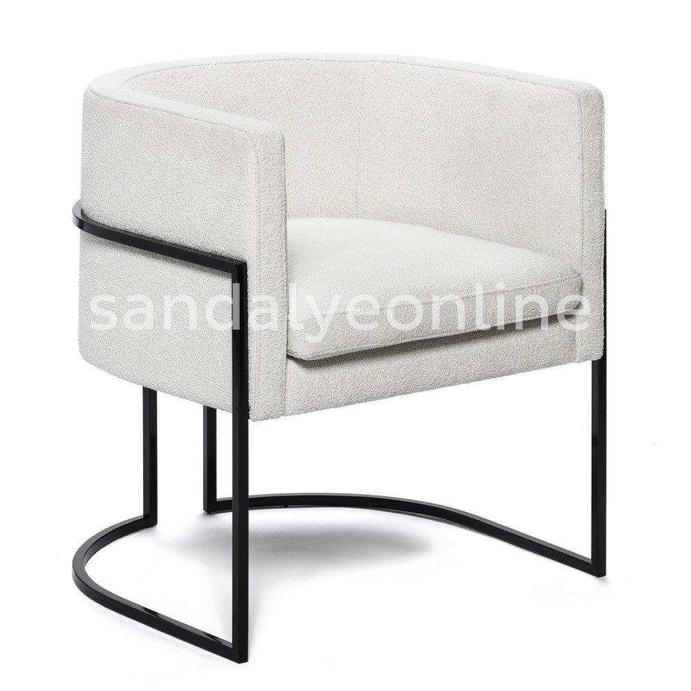 Siyah Metal Sandalye