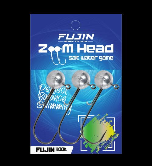 Fujin Zoom Head 3/0 Jighead