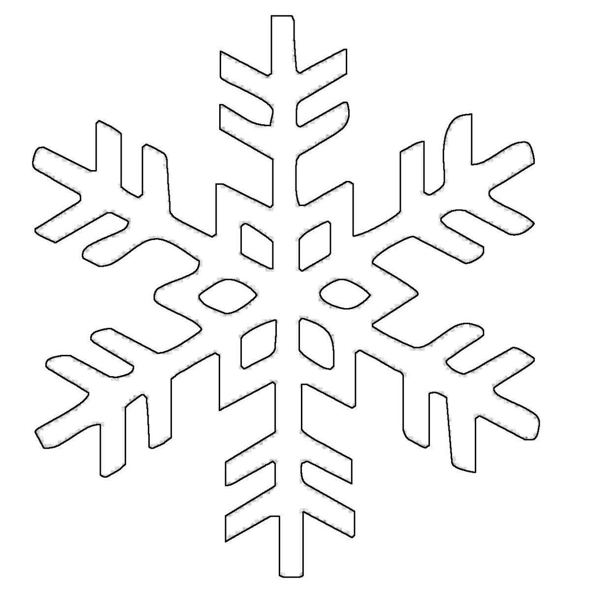 Kar Tanesi Kalıpları 6