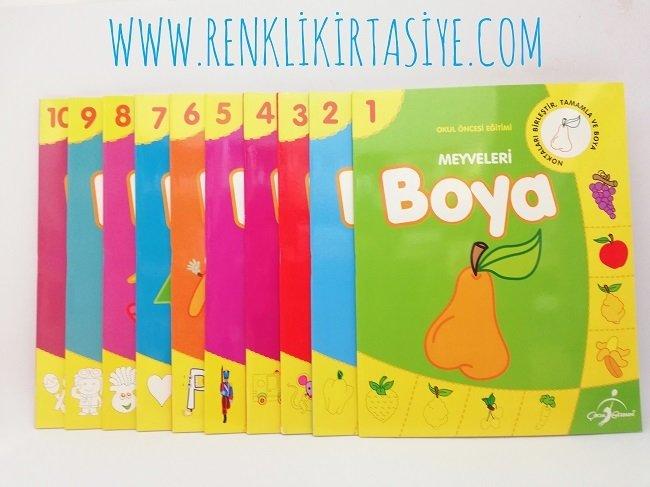 Kavramlar Egitimi Boyama Kitaplari Okul Oncesi Egitimi 30 Sayfa