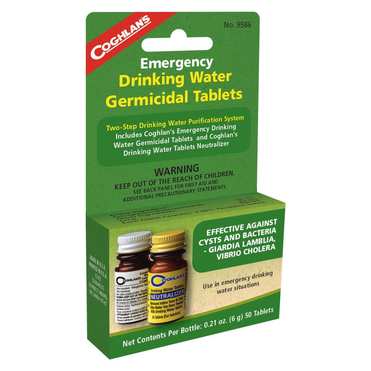 Coghlans İçme Suyu Arıtma Tabletleri