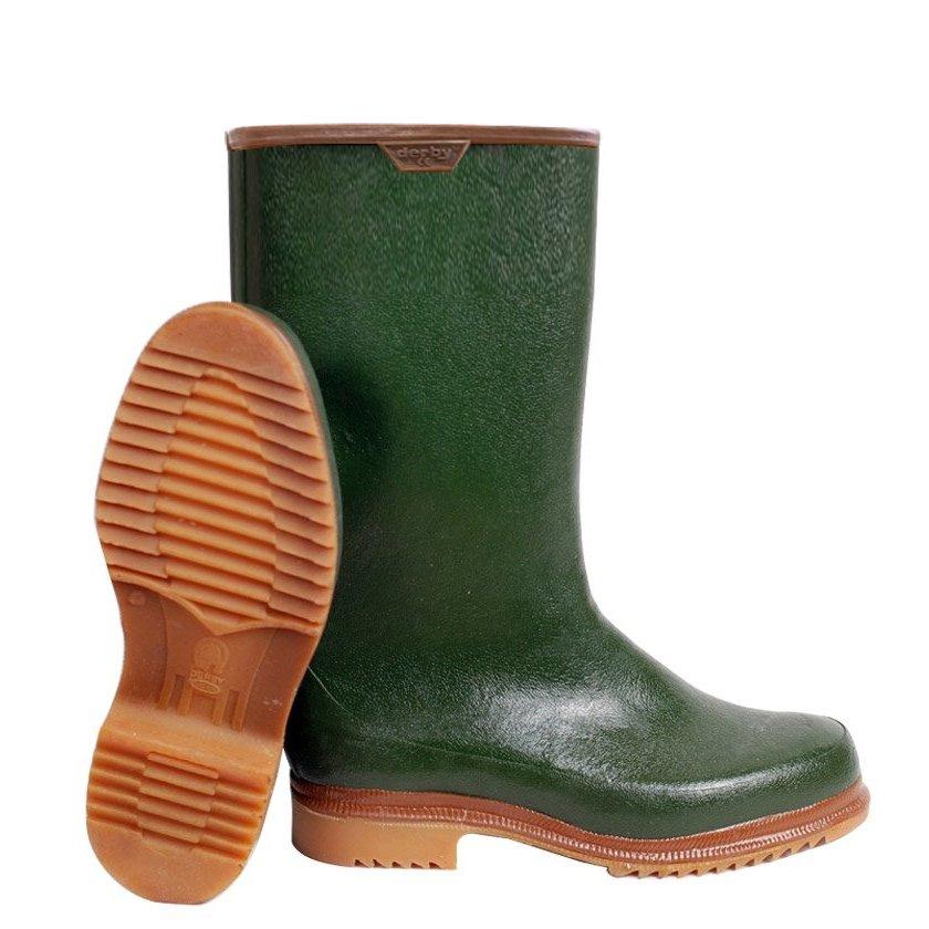 Derby Kauçuk Çizme Termolite Polar Çoraplı