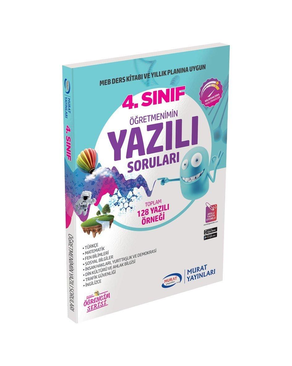 4 Sınıf öğretmenimin Yazılı Sınav Soruları Murat Yayınları