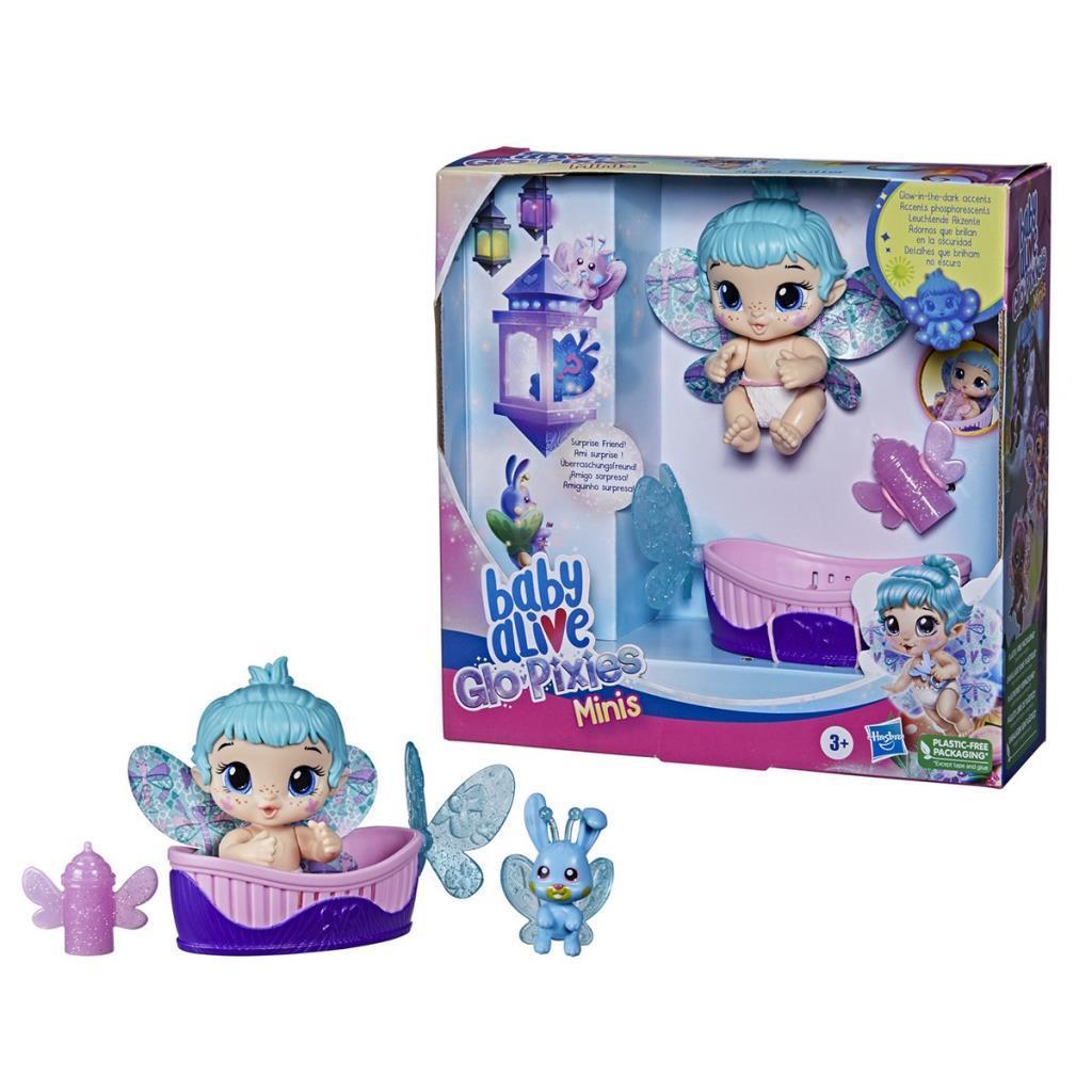 F2599 Baby Alive, Aqua Flutter - GloPixies Minik Peri Bebek, +3 yaş