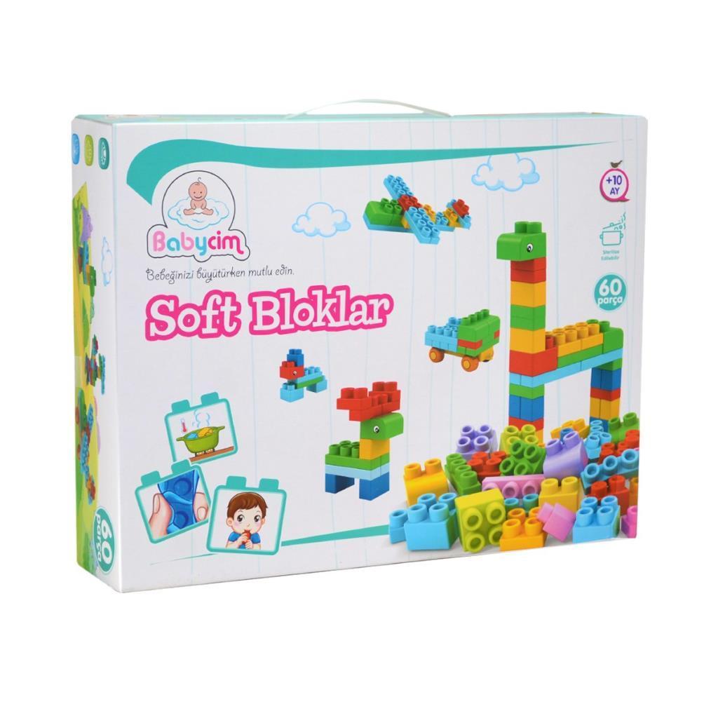 6661-3 Birlik Toys, Soft Block 60 Parça