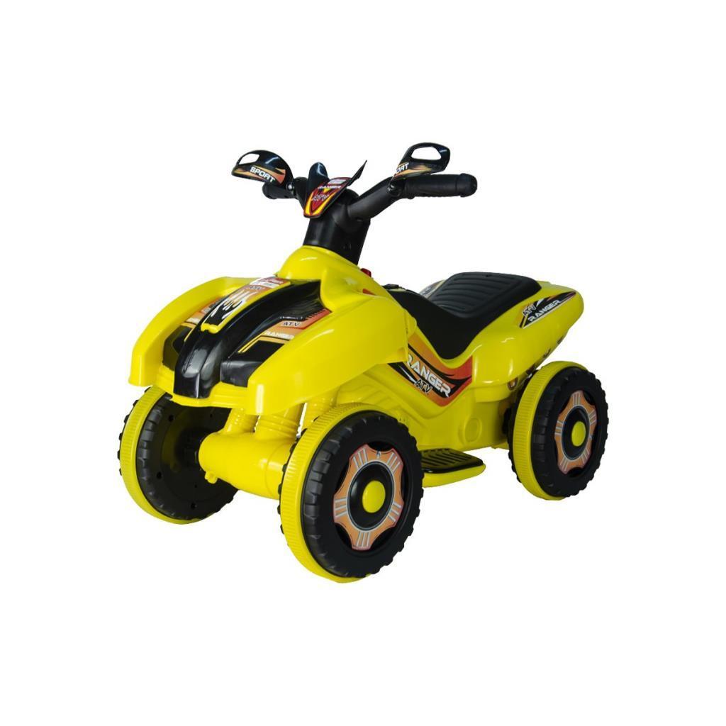 Akülü Atv 6V Ranger Sarı