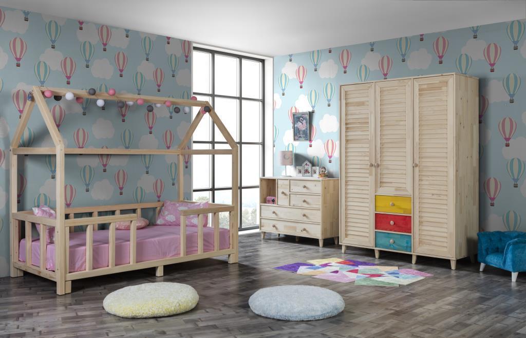 Tamga Montessori Çocuk Odası Takımı