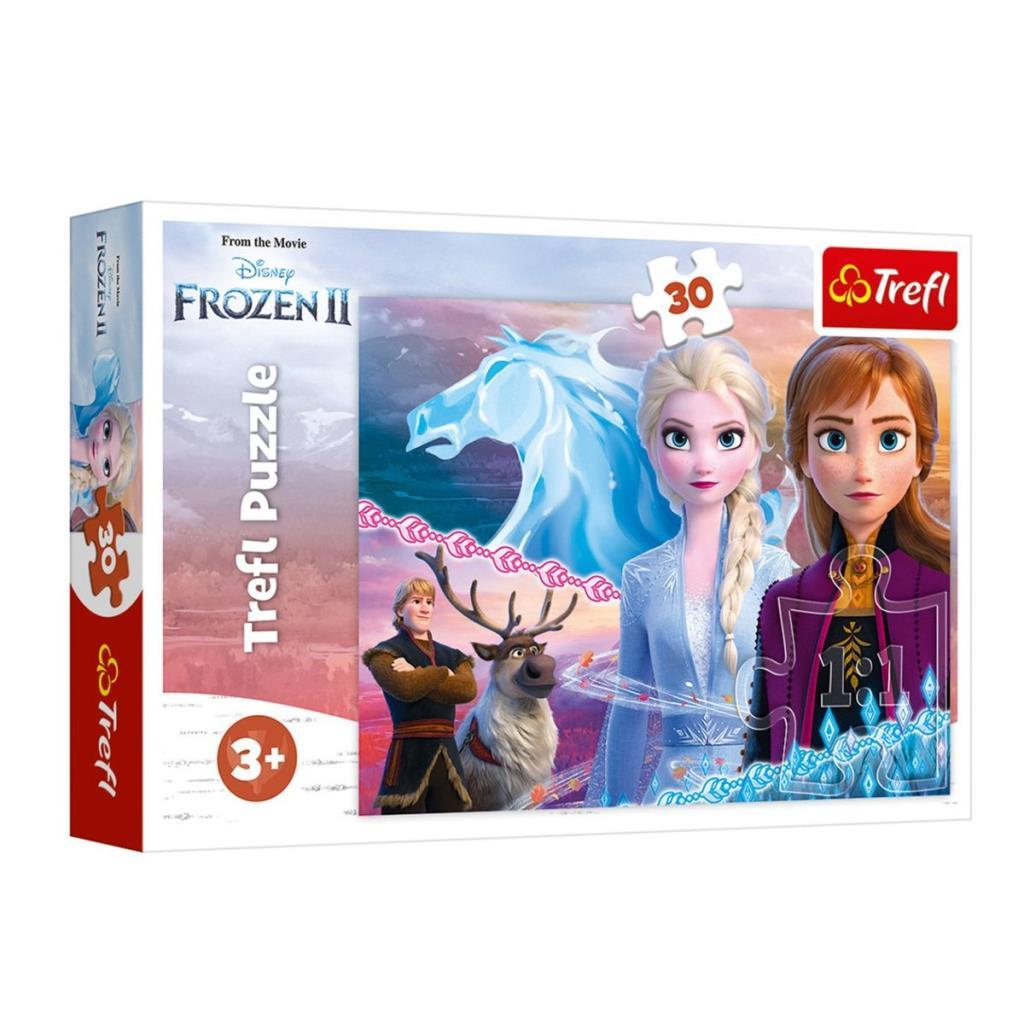 18253 Trefl, Frozen II The Courage Of The Sisters 30 Parça Puzzle
