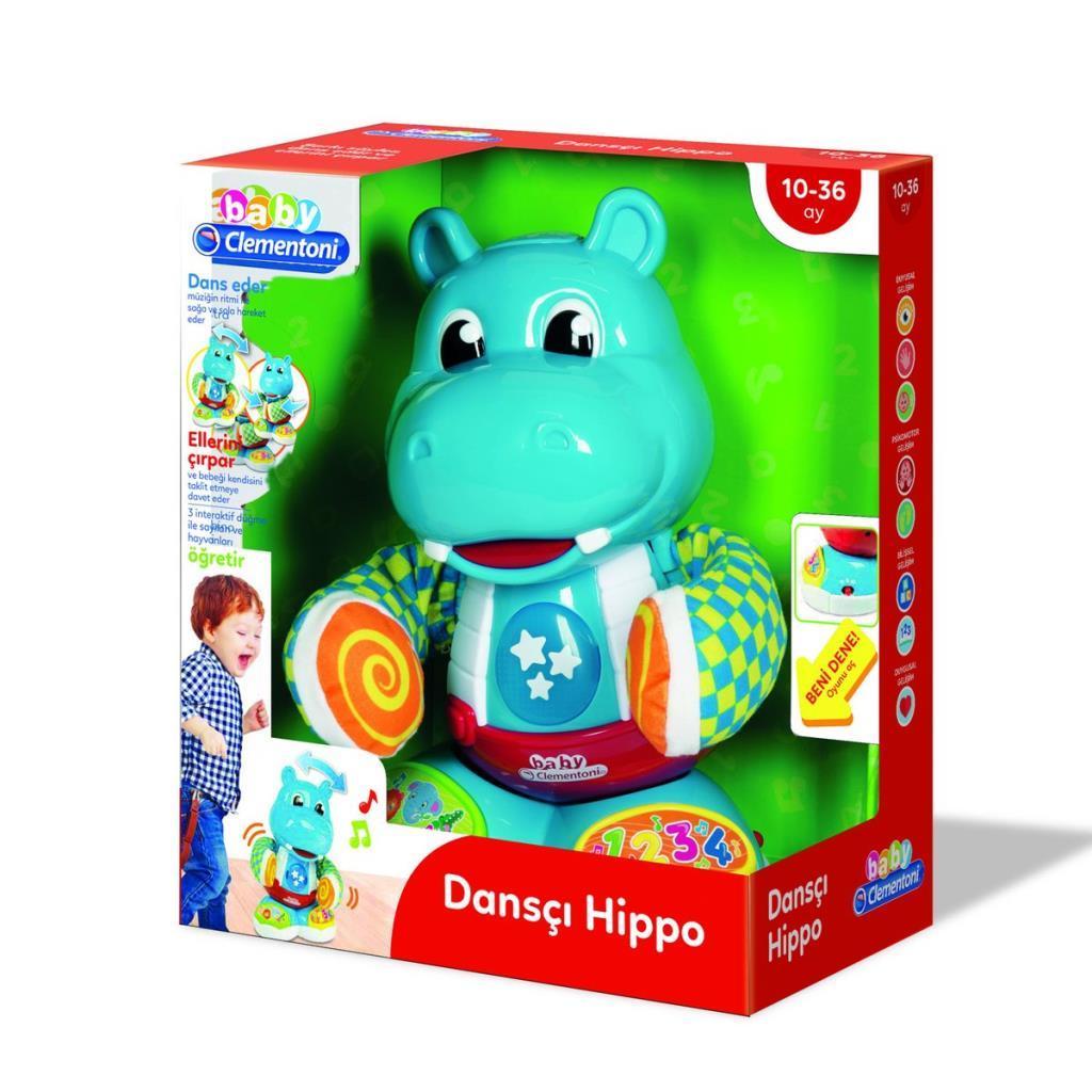 64454 Baby Clementoni Dansçı Hippo +6 ay