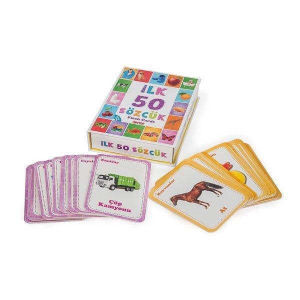 1161 DıyToy, Flash Cards - İlk 50 Sözcük / +12 ay