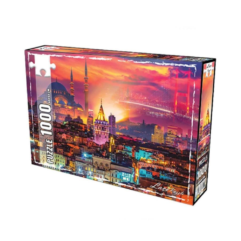 LC7266 Utku, İstanbul Gecesi 1000 Parça Puzzle