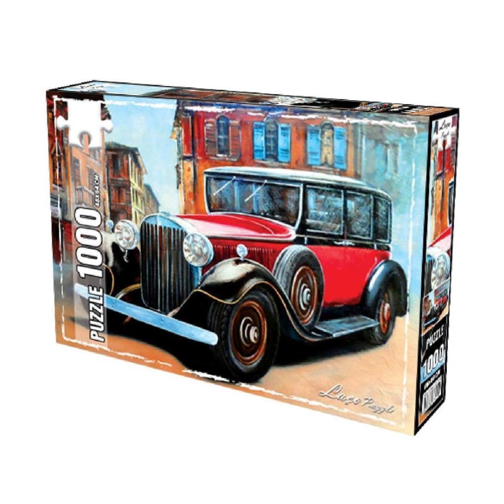 LC7271 Utku, Retro Araba 1000 Parça Puzzle