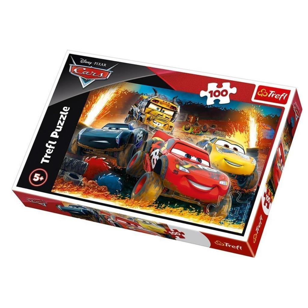 16358 Trefl Puzzle Cars 3 Extreme Race 100 Parça Puzzle