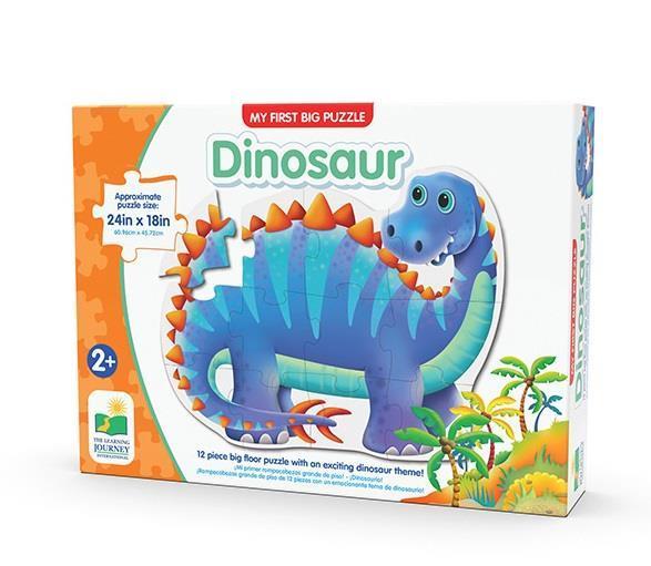 Büyük Boy Puzzle / Mavi Dinazor