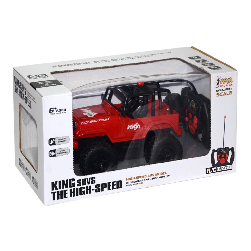 Kumandalı Şarjlı Jeep