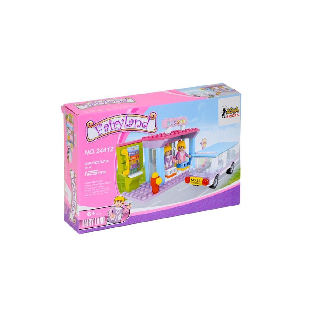 Asya Ant Bricks 125 Parça Peri Blok Seti