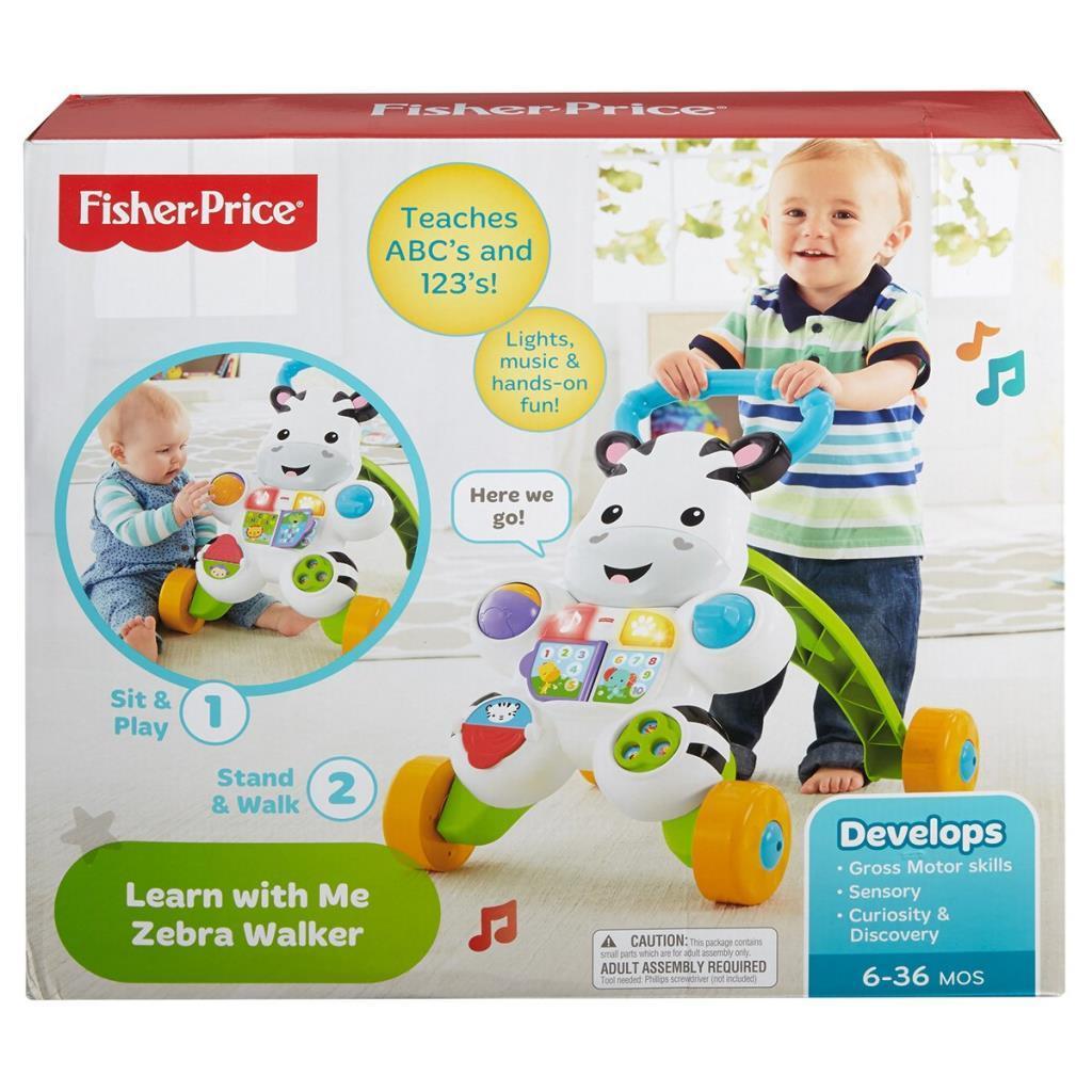DLD80 Fisher-Price® Melodili Zebra Yürüteç