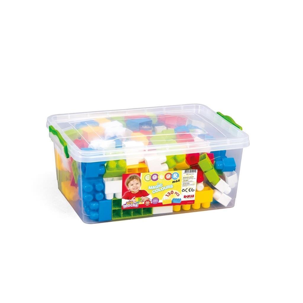 SandıktaBüyük Renkli Bloklar 130 Parça