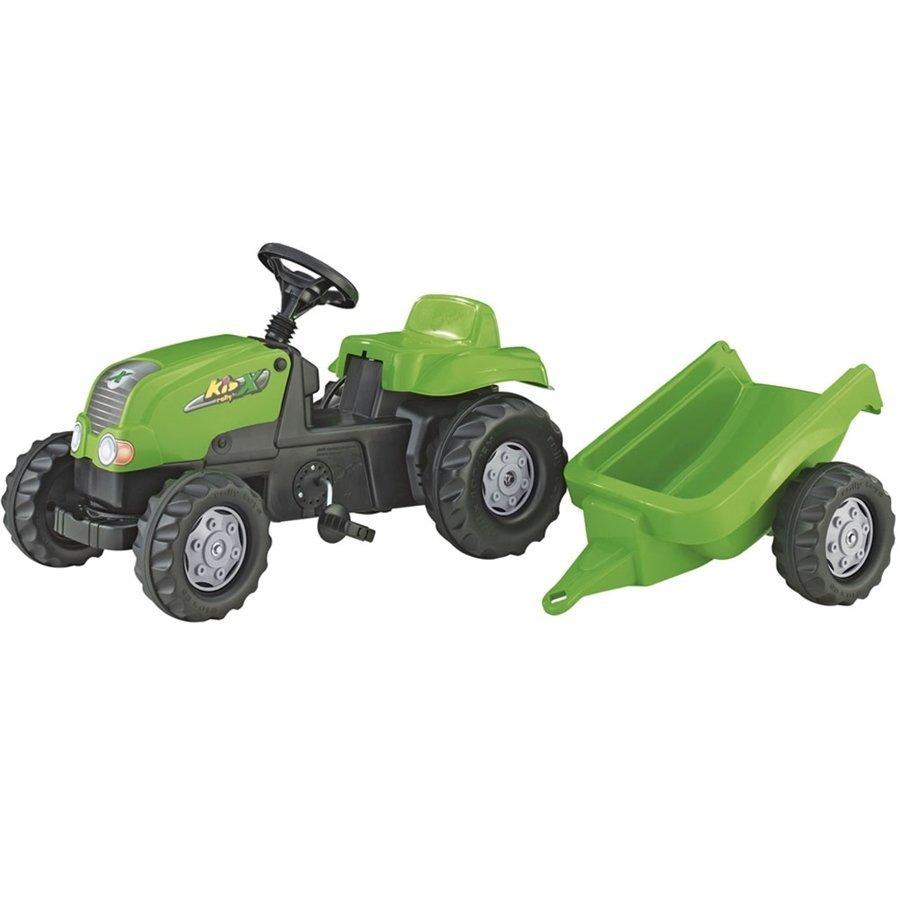 Rolly Römorklu Yeşil Traktör