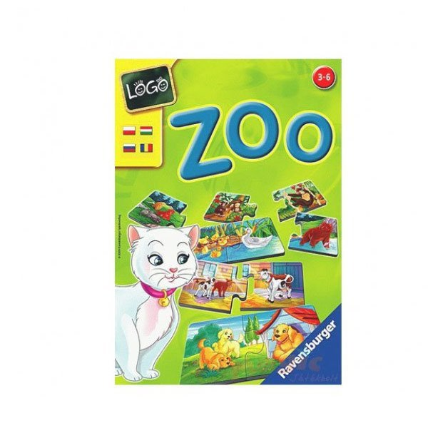 243600 Ravensburger, Logo ZOO / 3-6 yaş