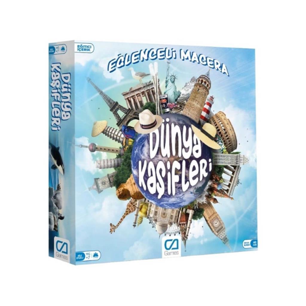 CA Games - Dünya Kaşifleri