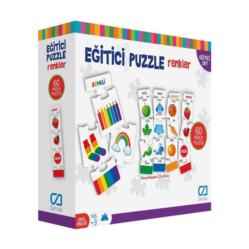 CA Games - Eğitici Puzzle Renkler