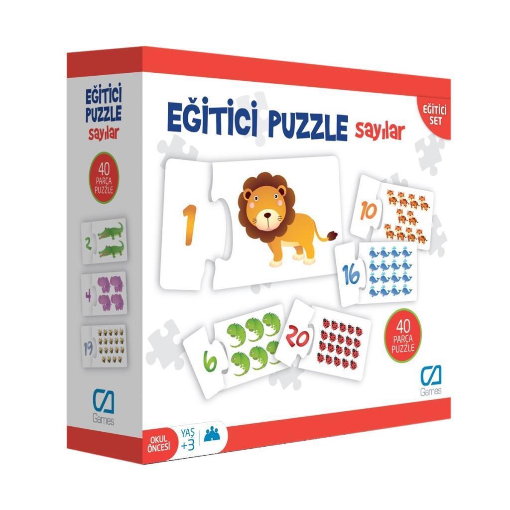 CA Games - Eğitici Puzzle Sayılar