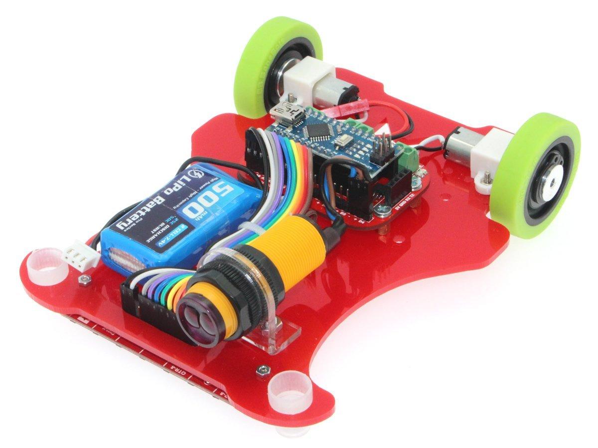 Çita Hızlı Çizgi İzleyen Robot Kiti - 6000Rpm