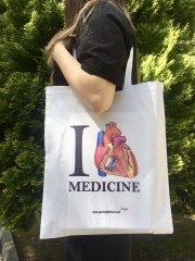 Beyaz - Love Medicine Bez Çanta