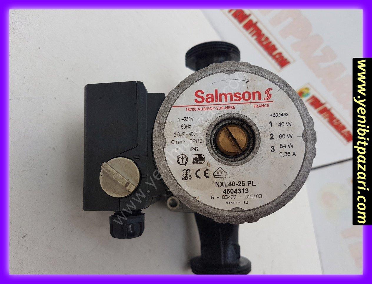 ikinciel salmson 220volt 84w 3 kademeli su pompa devir daim kombi kalorifer sirkulasyon pompasi sorunsuz