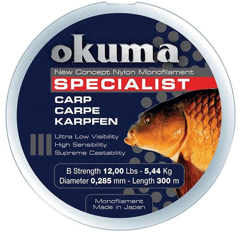 okuma okuma carp 300 mt 28 00 lb 12 73 kg 0 43 mm camou. Black Bedroom Furniture Sets. Home Design Ideas