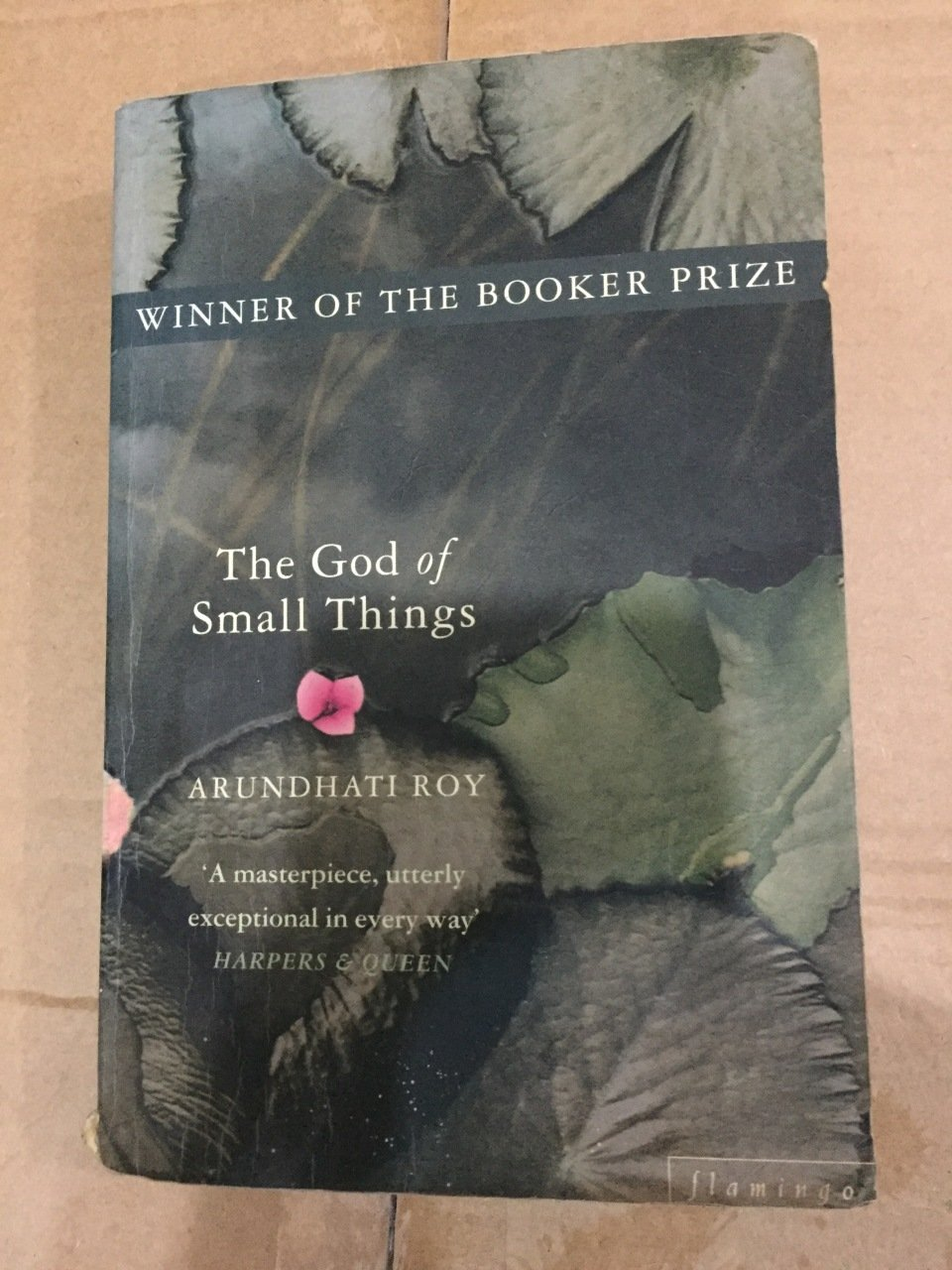 the god of small things extended essay Thanks to her first novel the god of small things she won the booker prize in 1997 when this novel was published  the text studied comes from the unfortunatelly , this alcoholic addiction is going to aggravate things because baba is not going to work any more  line14  whole days went by during.