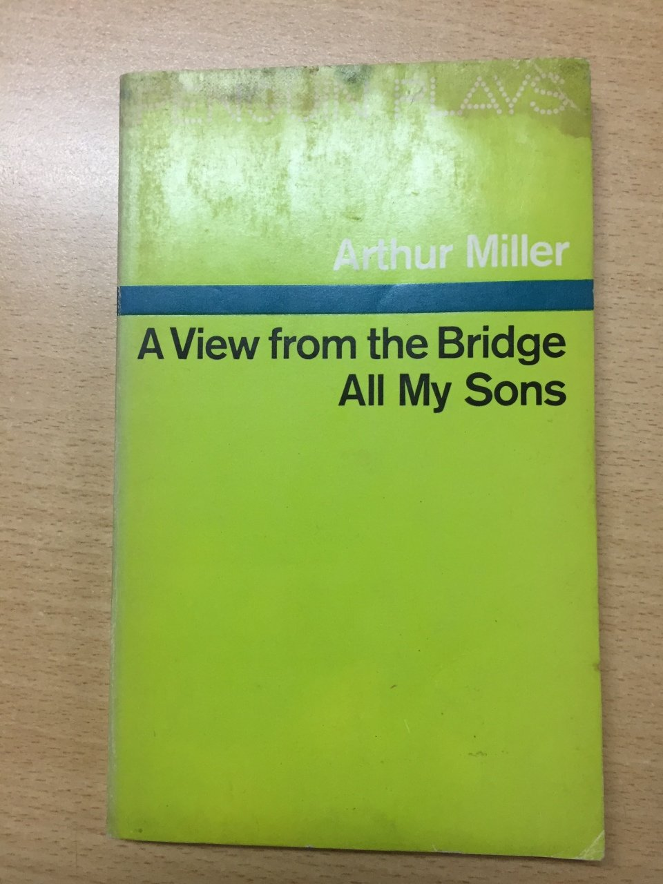 an analysis of arthur millers all my sons Like other works by arthur miller, all my sons is a critique of an overzealously capitalistic society it shows what happens when humans are ruled by greed it shows what happens when humans are ruled by greed.