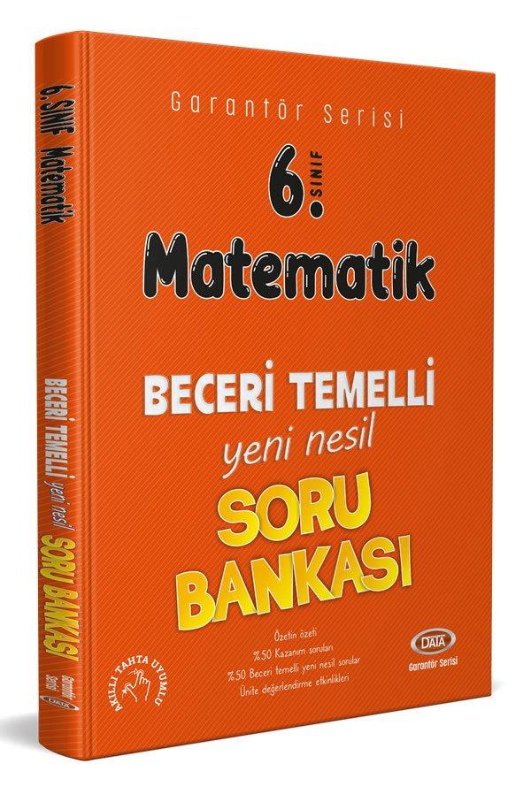 Data Yayınları 6. Sınıf Matematik Beceri Temelli Soru Bankası (Garantör Serisi)