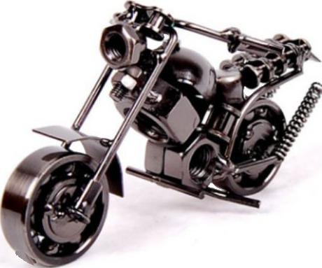 misiny el yapimi metal motosiklet maketi 003