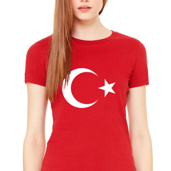 Ayyildiz T Shirt Small Olculeri Ve Fiyatlari Flagturk Com