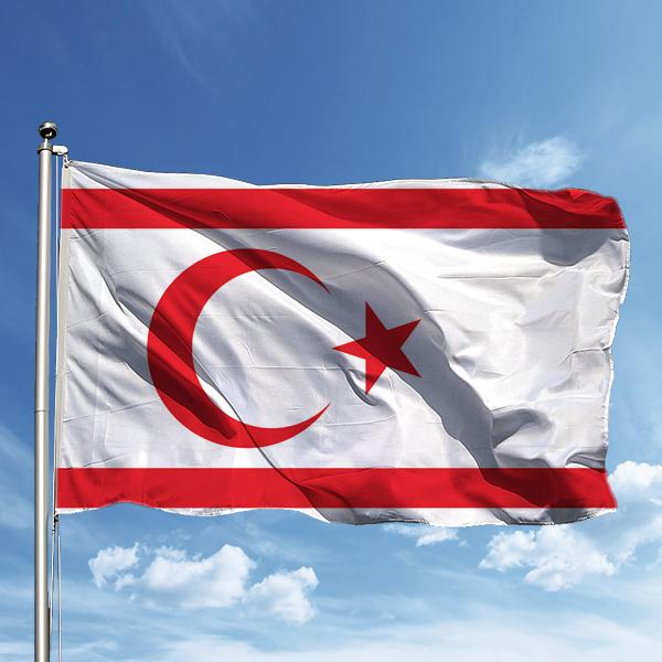 Kktc Bayrağı 150225 ölçüleri Ve Fiyatları Flagturkcom
