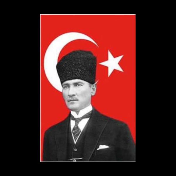 Atatürklü Türk Bayrağı Boyama Flagturkcom
