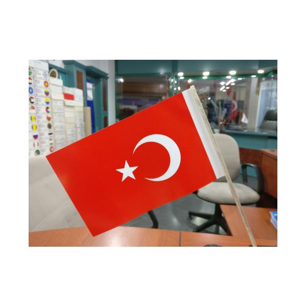 Kagit Turk Bayragi 12x20 5 Cm 500 Adet