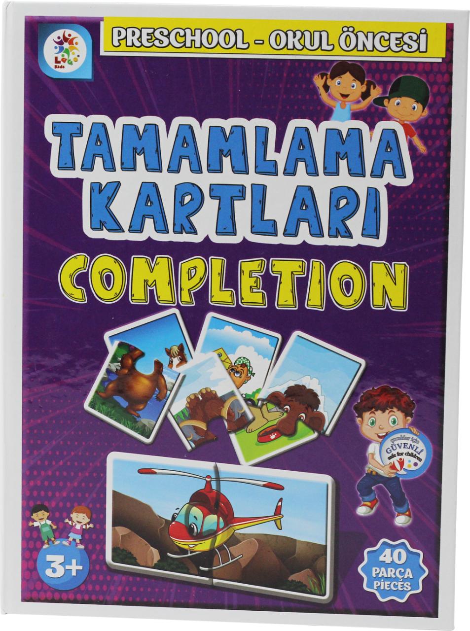 Laco Kids Tamamlama Kartlari Completiion Okul Oncesi Oyun Seti