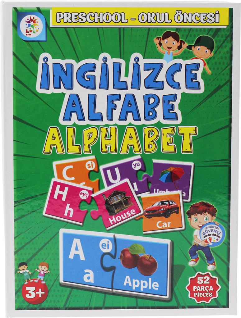 Laco Kids Ingilizce Alfabe Alphabet Okul Oncesi Egitim Seti 52 Parca