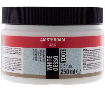 Talens Amsterdam Acrylic Beyaz Gesso Zemin Astarı 001 250 ml.