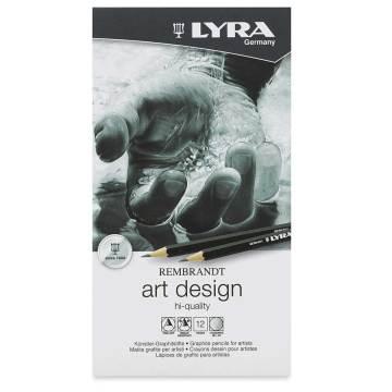 Lyra Art Design Dereceli Karakalem Eskiz Çizim Seti 12'li