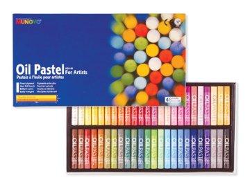 Mungyo Yağlı Pastel Oil Pastel 48 Renk