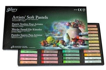 Mungyo Gallery Artists' Soft Pastel 48 Renk Tam Boy