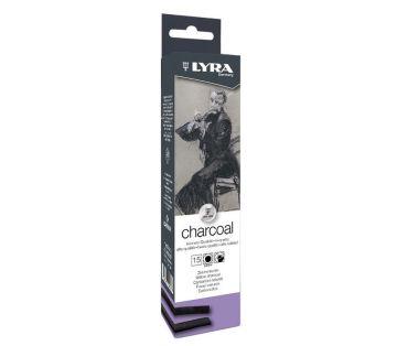 Lyra Charcoal Doğal Kömür Medium 15'li Kutu